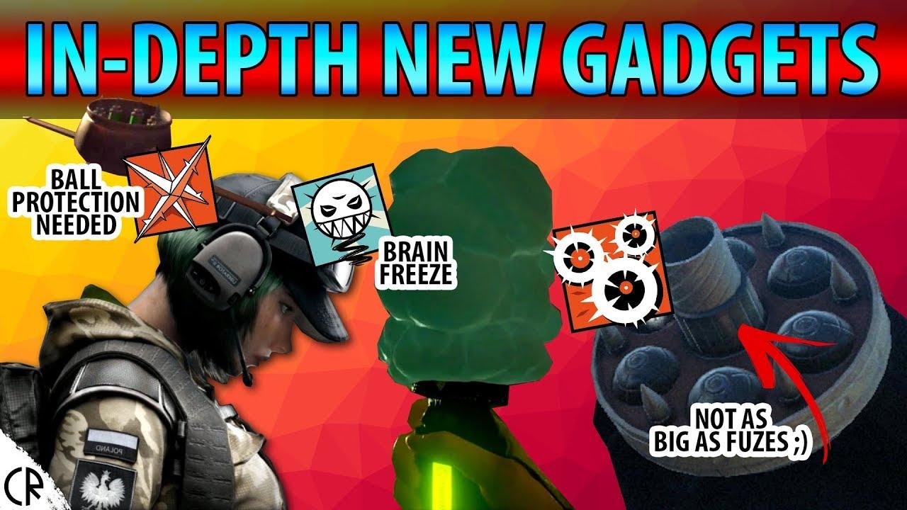 In-Depth New Gadgets Ela, Ying, Lesion - Blood Orchid DLC - Rainbow Six Siege - R6