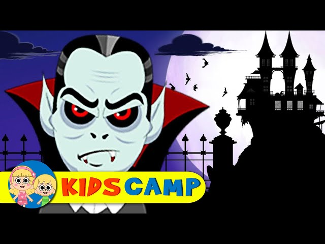 Halloween Songs for Kids   A Ghost A Vampire   Nursery Rhymes for Children  & Baby Songs KidsCamp