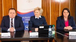 Rekrutacja do szkół na rok 2019/2020 - briefing prasowy Kuratorium Oświaty w Warszawie