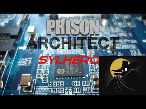 SylHero plays Prison Architect - 15 - Even more jobs and East expansion