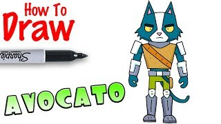 How To Draw Avocato Final Space Youtubedownload Pro