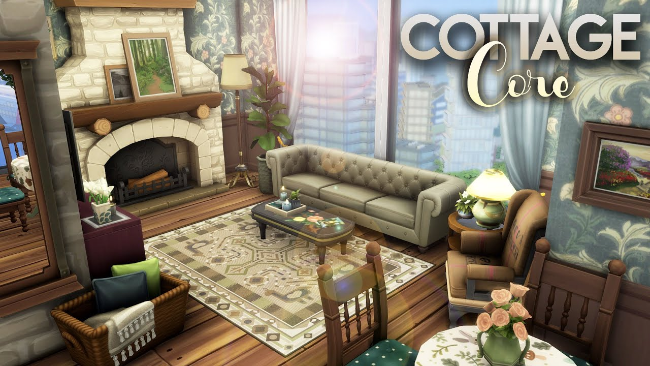 HENFORD COTTAGE || The Sims 4: Cottage Living Speed Build