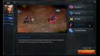Irelia abilities - League of Legends