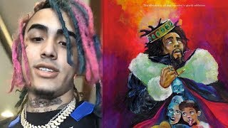Lil Pump Reacts to J Cole Dissin Him On KOD 1985