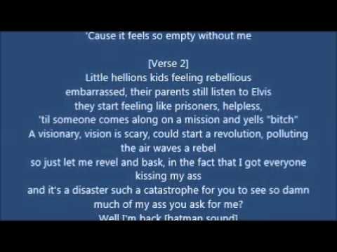 Eminem-Without Me(Lyrics)