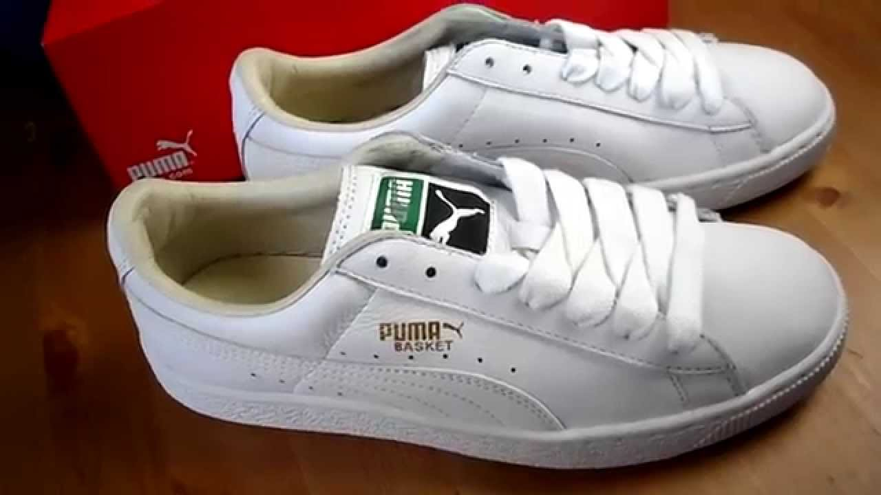 Puma Basket On Foot