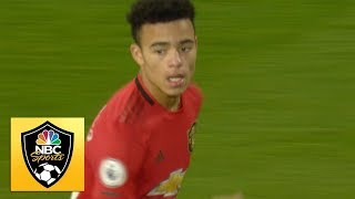 Mason Greenwood equalizes for Man United against Everton | Premier League | NBC Sports Video