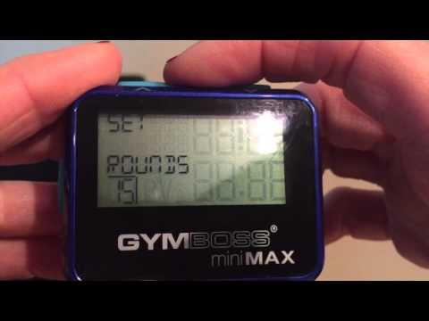 Gymboss Mini Max Interval Tutorial
