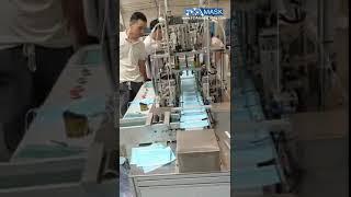폐기 부직포 마스크 기계 자동 마스크 마스킹 생산 라인…