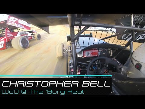 Christopher Bell | World of Outlaws @ Lawrenceburg Speedway Heat | 5.27.19