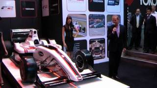 Formula Two Reveal 2012 Car at Autosport International Show