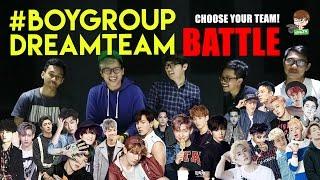 K-POP BOYGROUP DREAMTEAM BATTLE ft. Alphiandi, Al-Fayyadh, Kevin F. & Rifqi