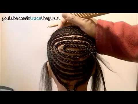 Sew in basics wtrace basic circular braid pattern w anchor sew in basics wtrace basic circular braid pattern w anchor braids youtube ccuart Gallery