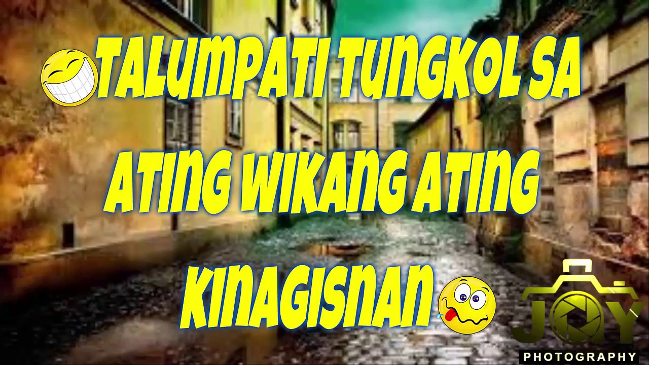filipino talumpati I am a filipino, child of the marriage of the east and the west the east, with its languor and mysticism, its passivity and endurance, was my mother, and my sire was the west that came thundering across the seas with the cross and sword and the machine.