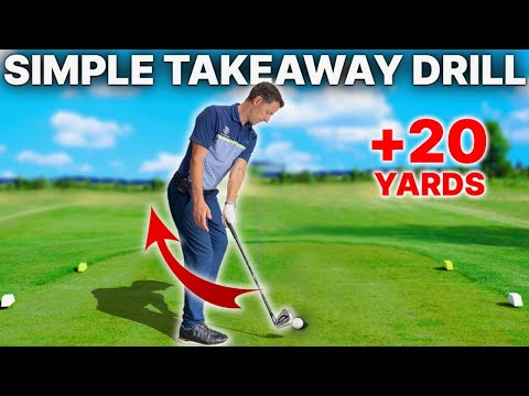 Simple Takeaway Drill – This golf swing takeaway drill was a GAME CHANGER for a recent student