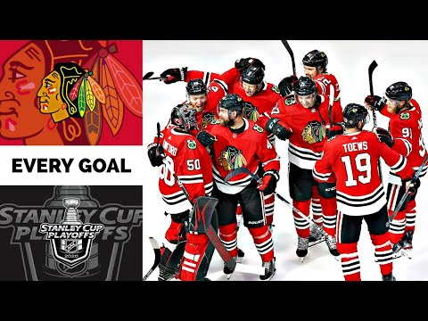 Chicago Blackhawks | Every Goal From The 2020 Stanley Cup Playoffs