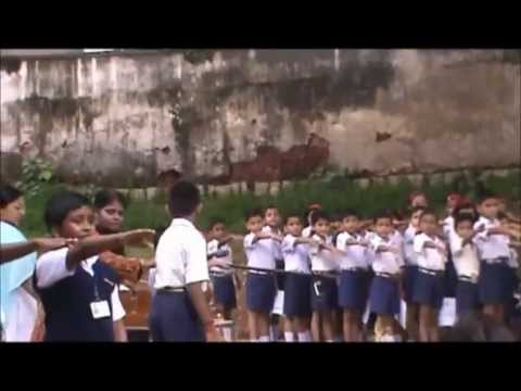 KENDRIYA VIDYALAYA  ASC BANGALORE ASSEMBLY LED BY CLASS II E ON 25 AUGUST 2012 PLEDGE BY JEROME
