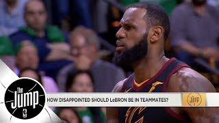 Should LeBron James be mad at Cavaliers? | The Jump | ESPN