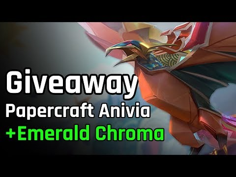 Anivia Mid + Giveaway | League of Legends #591