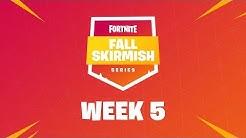 Fall Skirmish Week 5 Club Standings