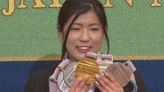 村岡選手「驚いている」  平昌パラでメダル5個 村岡桃佳 検索動画 23