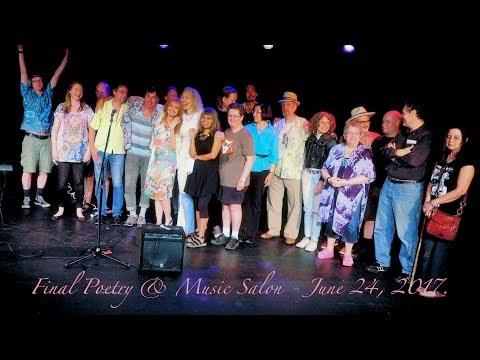 June 2017  Final Poetry & Music Salon