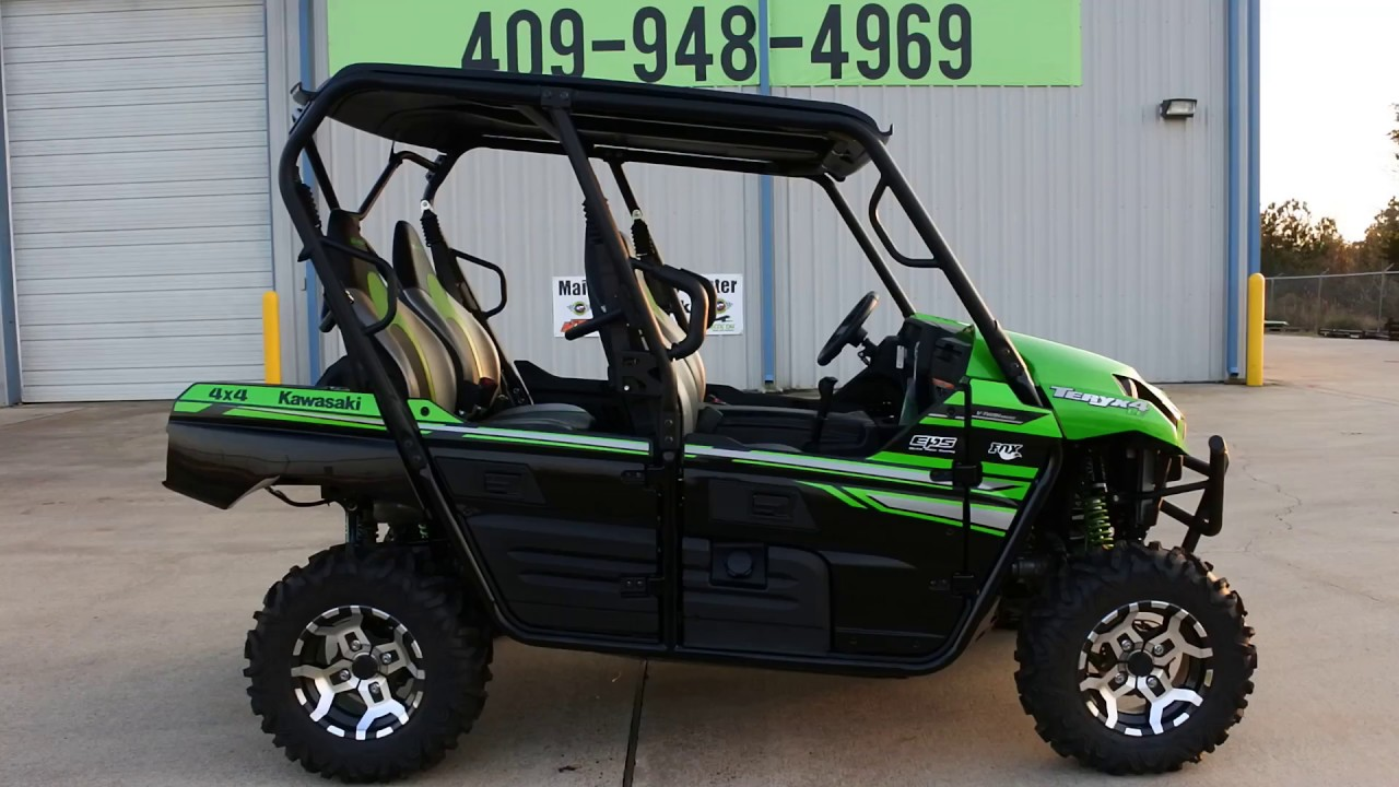 sale $13,699: 2017 kawasaki teryx4 le candy lime green overview