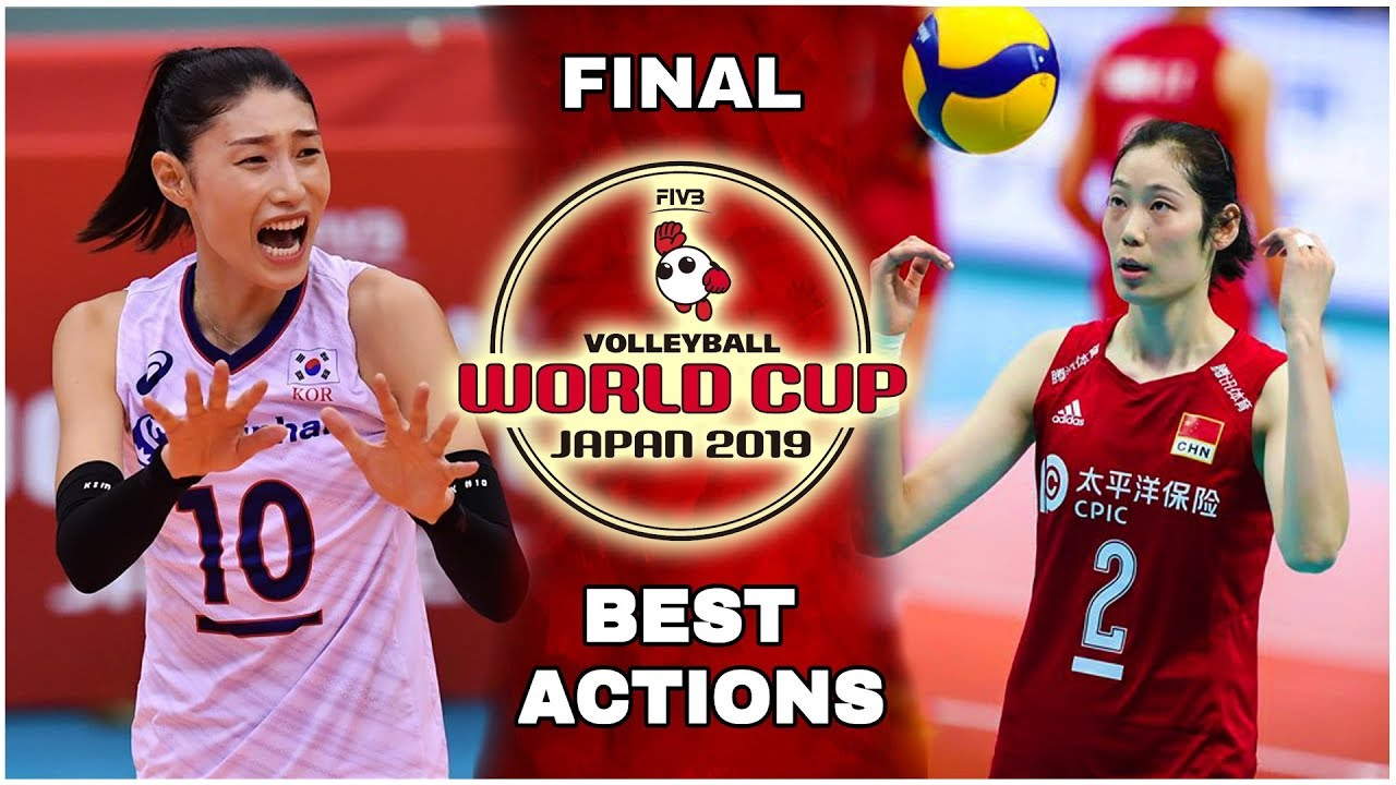 Final Women S Volleyball World Cup 2019 Best Actions Hd Youtube