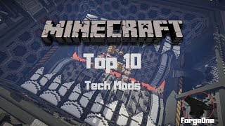 Minecraft Top 10 - Tech Mods