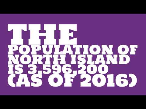What is the population of North Island?