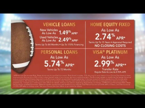 Pa Auto Loan And Home Equity Loan Choice One Fcu Fall Loan Sale