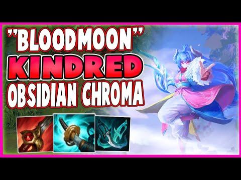 Obsidian Chroma Spirit Blossom KINDRED Is just Blood Moon KINDRED! Spirit Blossom KINDRED Gameplay!