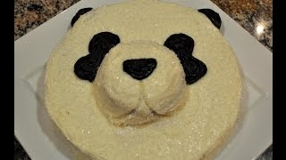 Red Velvet Panda Cake With Cream Cheese Frosting Thumbnail