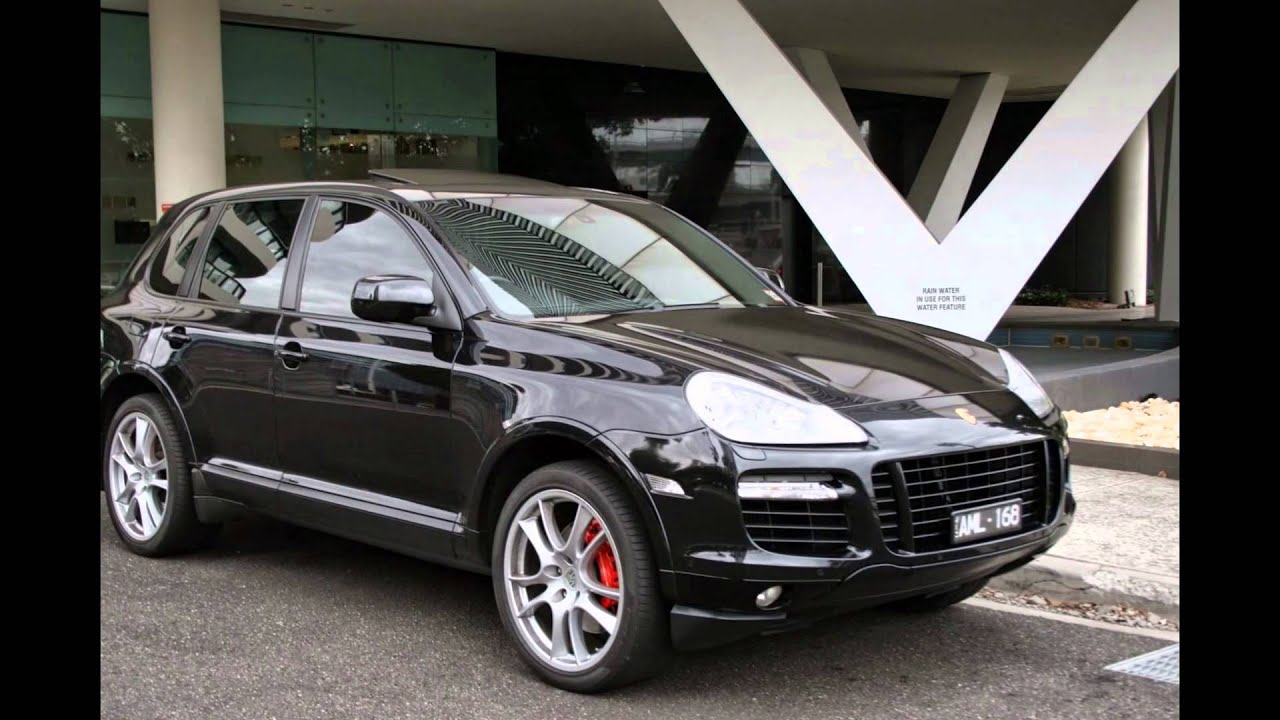 Porsche Cayenne Turbo Gts Pack My 2008 Black With Black