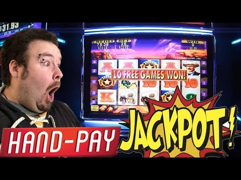 RAWHIDE Live play with HUGE JACKPOT HANDPAY Bonus REVISITED
