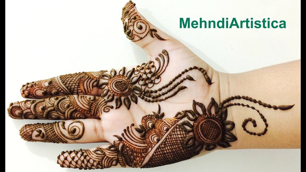 Mehndi design 2017 on palm - Stylo Arabic Henna Mehndi Designs For Party Fullhand Dubai Mehendi Step By Step Mehndiartistica