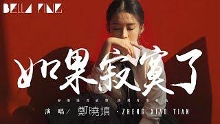 鄭曉填 - 如果寂寞了【歌詞字幕 / 完整高清音質】♫「如果因為寂寞 請別再來找我...」Zheng Xiao Tian - If You're Lonely