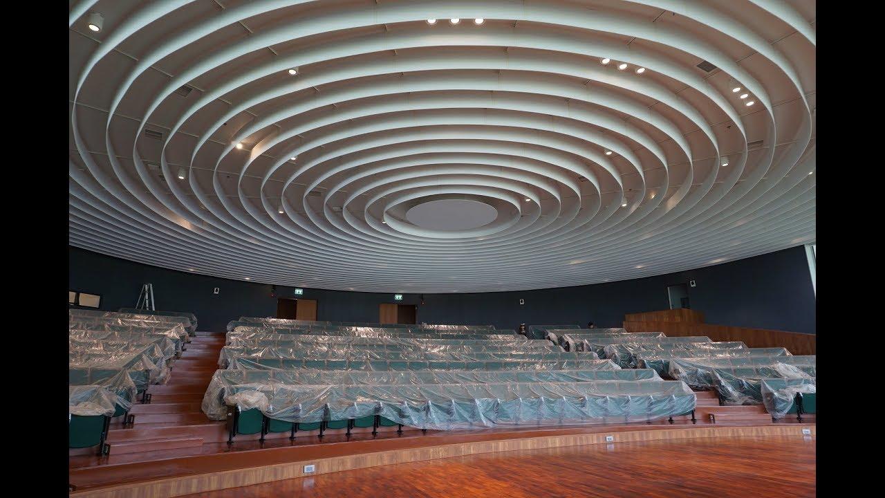 Ekous Round Fin Ceiling