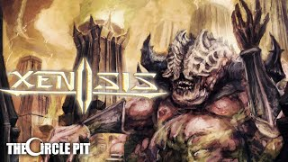 XENOSIS - Castrato (Official Lyric Video) Progressive / Technical Death Metal   The Circle Pit