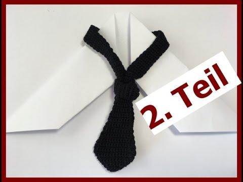 Häkeln - Krawatte - Häkelkrawatte \