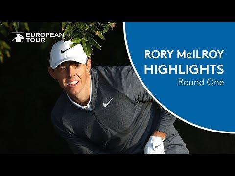 Rory McIlroy Highlights | Round 1 | 2018 Abu Dhabi HSBC Golf Championship