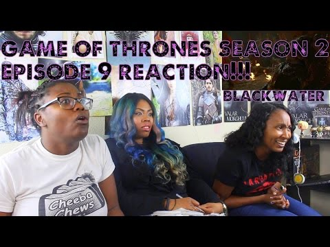 Game of Thrones Season 2 Episode 9 REACTION!!! BlackWater