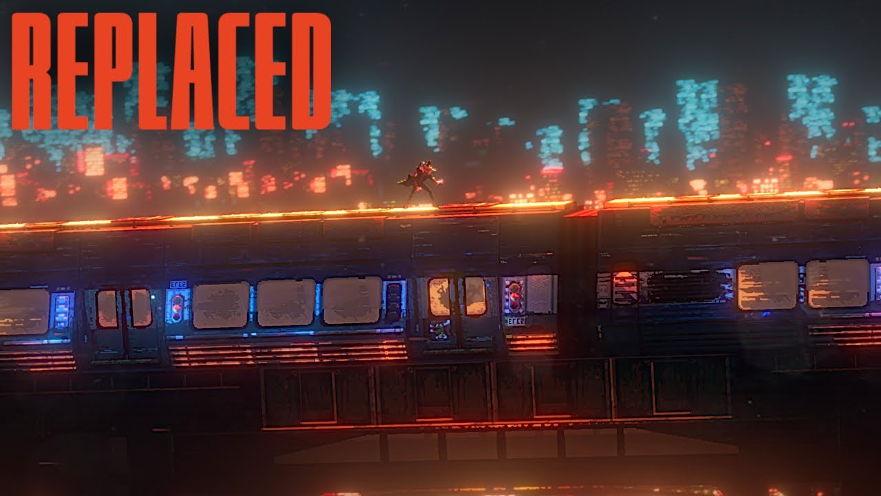 Download REPLACED Trailer 4K (New Retro-Futuristic Action Game 2022)