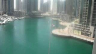 Amazing balcony views- Infinity Tower .AVI