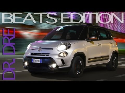 2014 fiat 500l beats edition doovi. Black Bedroom Furniture Sets. Home Design Ideas