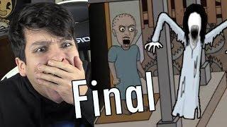 EL NUEVO FINAL DE GRANNY !! INVOCAMOS A SLENDRINA - Insanus 2D (Horror Game)