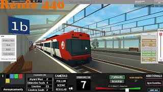 Roblox Terminal Railways all trains departs without specials (21.01.18r)