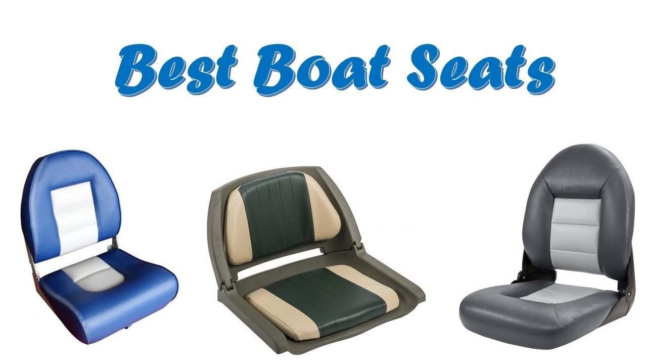 Lightweight Folding Boat Seat Grey//Blue Style By MiDMarine