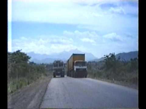 TANZANIA - overtaking crazy dangerous bus driver 1990/91-16