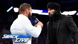 "Jinder Mahal gives a ""Roode Awakening"" to Bobby Roode: SmackDown LIVE, Feb. 20, 2018"